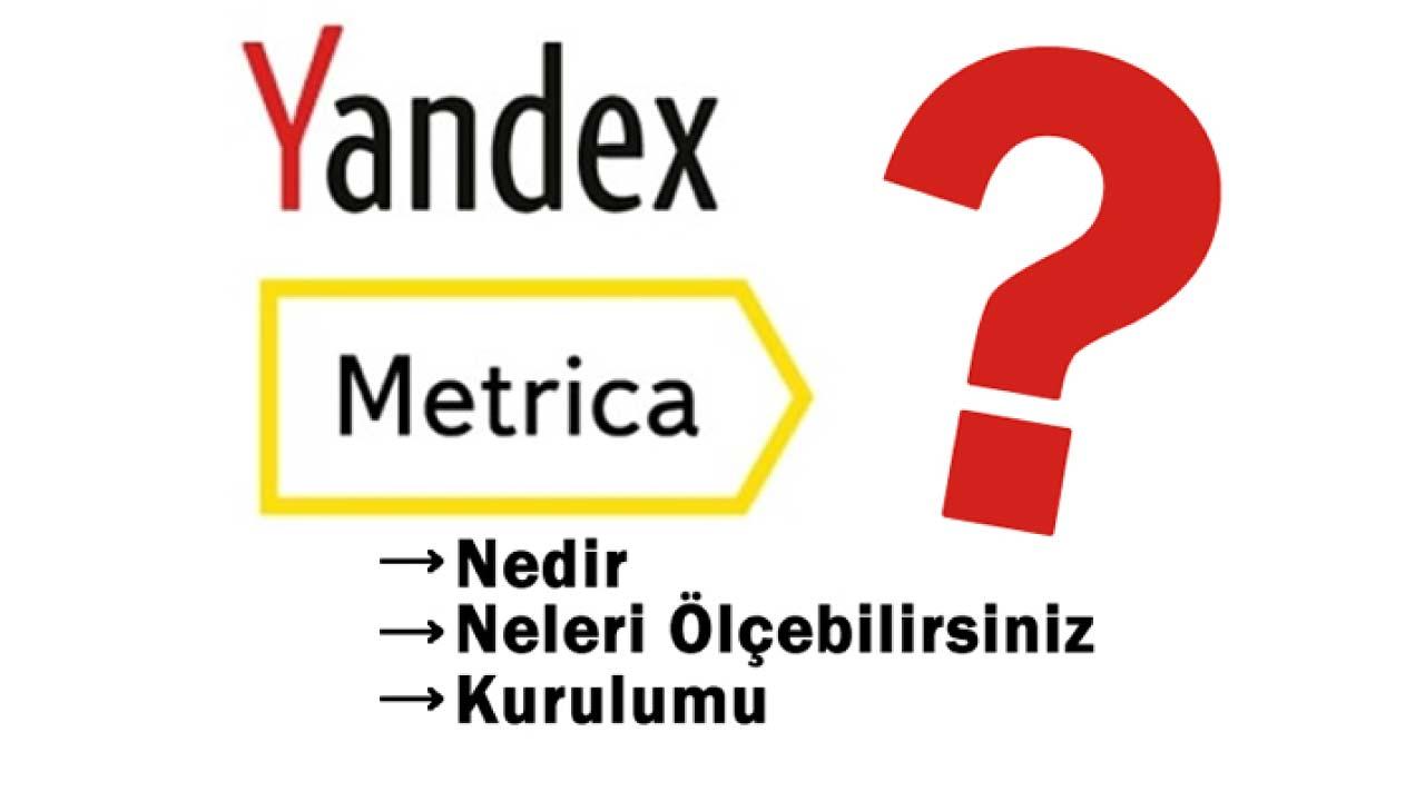 yandex metrica nedir