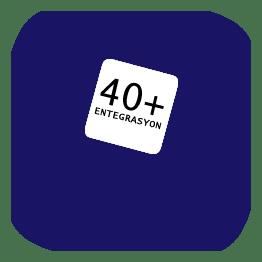 +40 entegrasyon